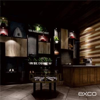 EXCO New Product Container Coffee Retail Shop Name Board Designs For Offline Store