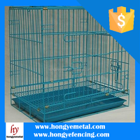 Folding Strong Wire Gauge Foldable Wire Dog Cage Animal Cage