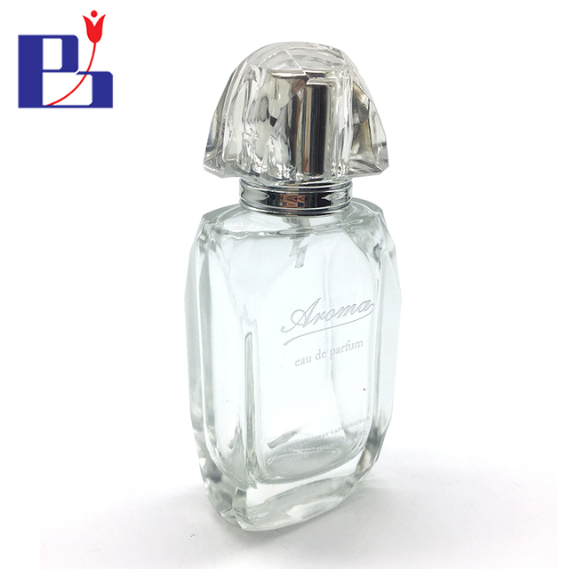 Junfeng 60ml personalize eau de parfum spray glass bottle manufacturers