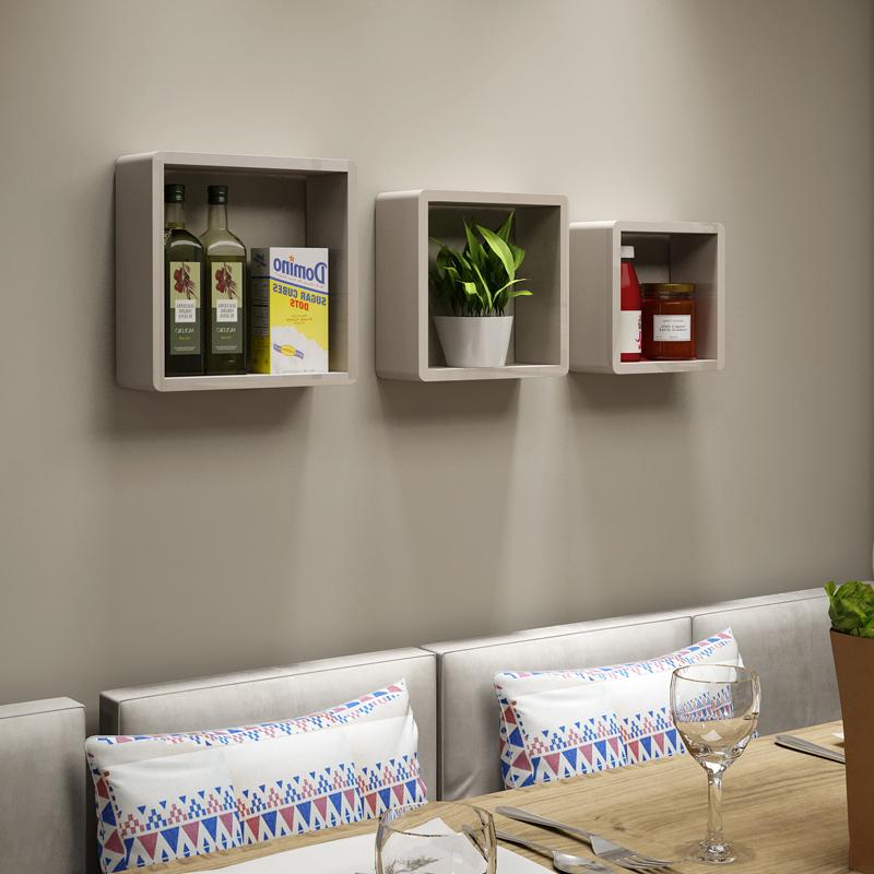 Venta al por mayor bricolaje repisas pared-Compre online los mejores ...