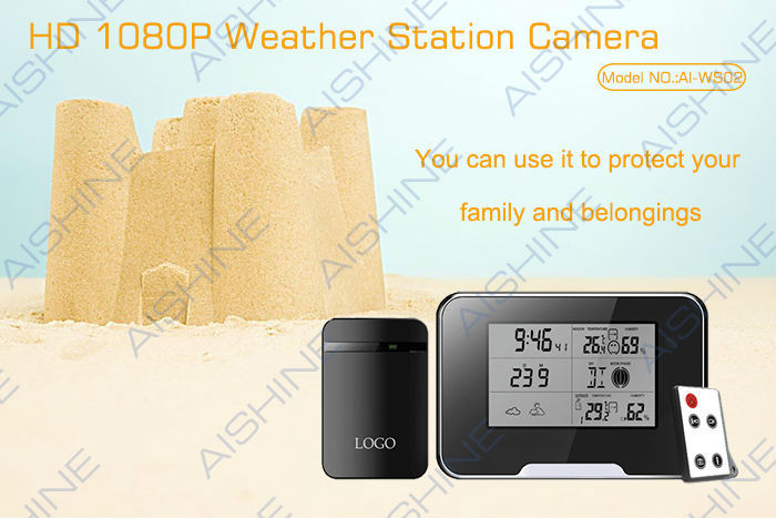 Full HD 1080P Videos nanny camera weather station hidden cam photobooth camera