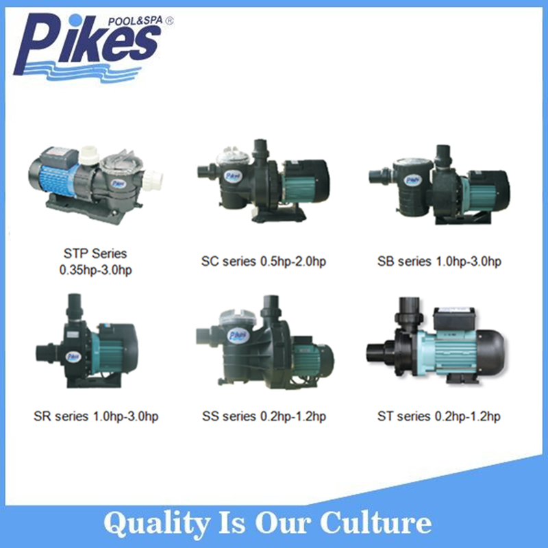 Pikes Professional pump factory electrical centrifugal Swimming Pool water Pump