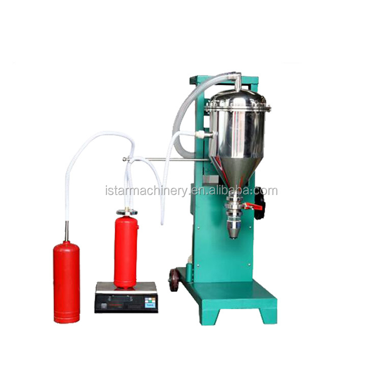 watsapp +86 15140601620 Custom designed fire extinguisher dry powder filling machine