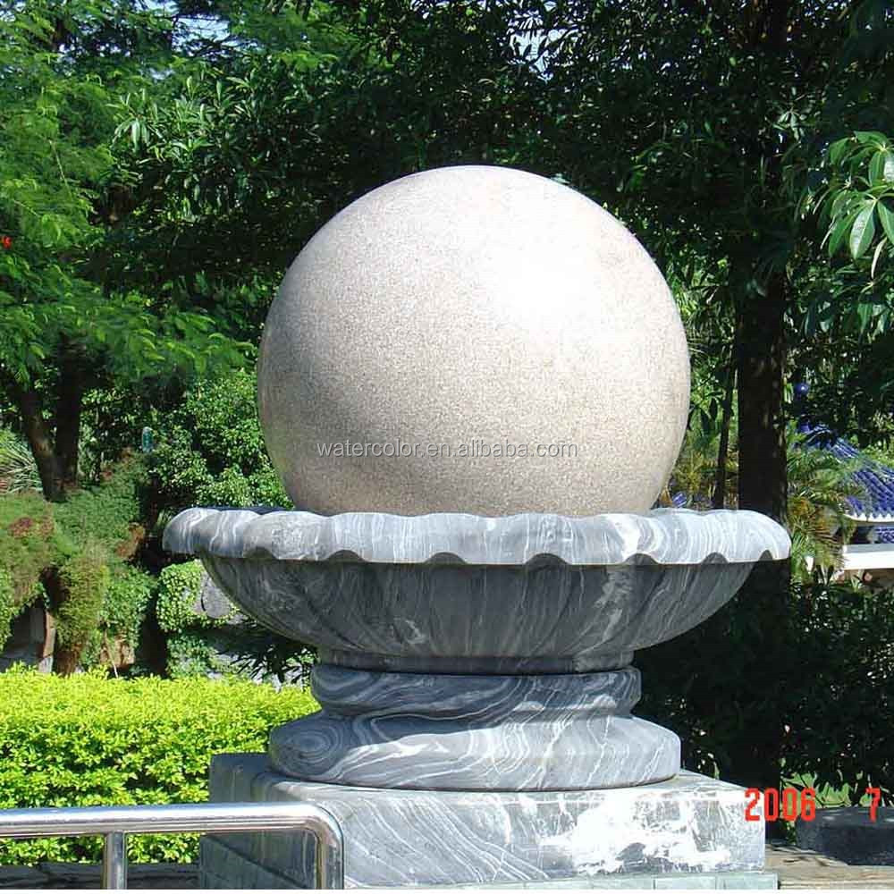 Modern Art Outdoor Garden Hand Carved Statue Natural Marble Fountain