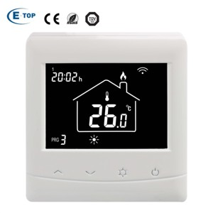 Hot Tuya smart home system wifi underfloor heating thermostat with 16A heating