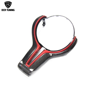Carbon Steering Wheel Trim Cover New Design For BMW M Sport M2 M3 M4 M5 M6 X5M X6M Carbon Steering Wheel Cover