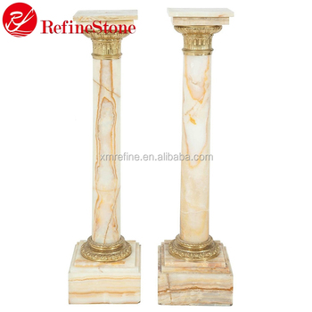 Home Decoration Marble Round Pillar Designbuilding Roman Pillar