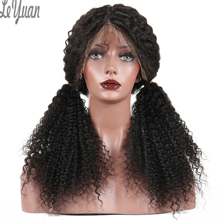 12 Inch Curly Human Hair Full Lace Wig 10A Grade Raw Indian Hair