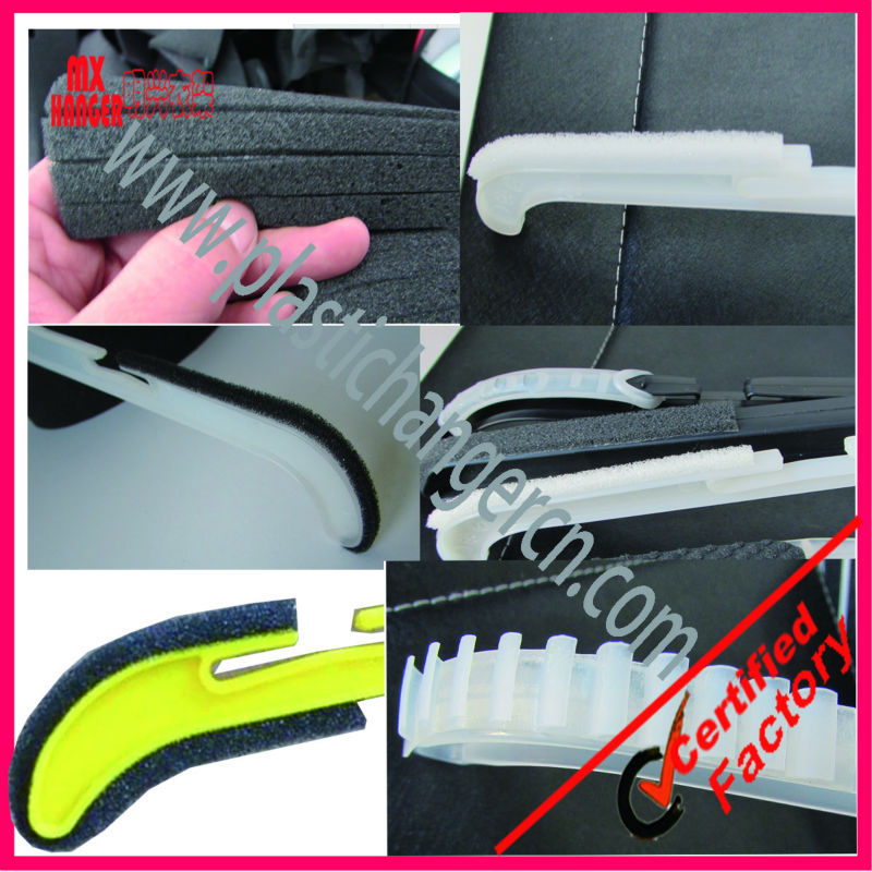 silicone,foam hanger pad for coat.jacket hangers