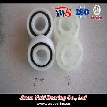6004 6005 6006 Pp Pom Ptfe Plastic Bearing For Food Machinery ...