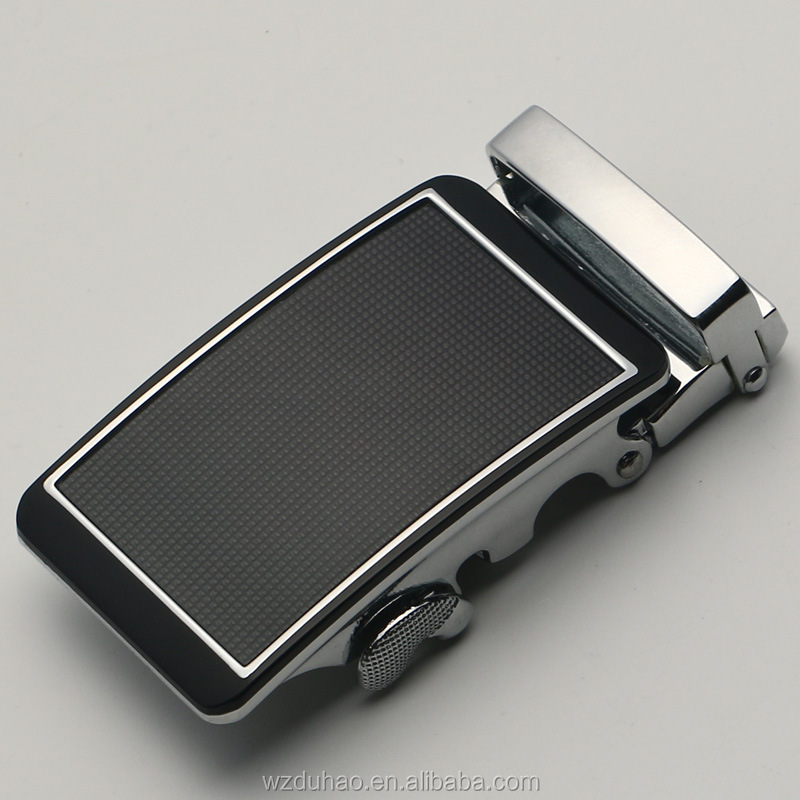Custom Fashion 3.8cm Genuine Real Leather Belt Buckle Automatic Buckle For Man