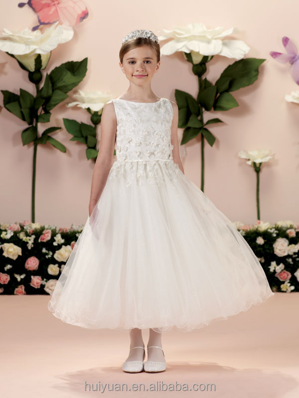 High Quality White Lace Tulle Baby Gown Girls Fancy Dresses - Buy ...