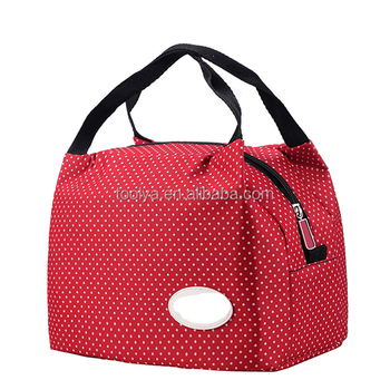 Portable Insulated Canvas lunch Bag Thermal Food Picnic For Women kids Men  Cooler Lunch Box Bag fd0b3a4ffb5a