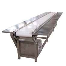 Flat Stainless Steel Food PVC Belt Conveyor