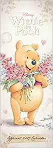 Disney Winnie the Pooh (Sketch) Official 2017 Slim Calendar