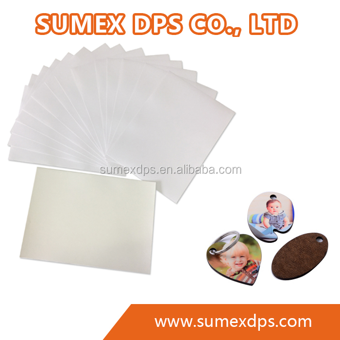 Laser heat transfer paper A3 size, Self weeding, No cut, for hard surface materials including pen, mug, metals, glass, etc