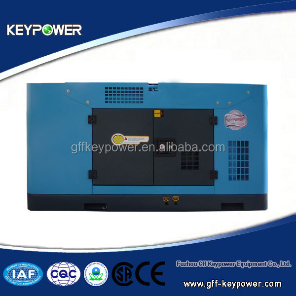 Keypower Soundproof 7kw Portable Diesel Genrator Power by Yangdong Diesel Engine Home Use