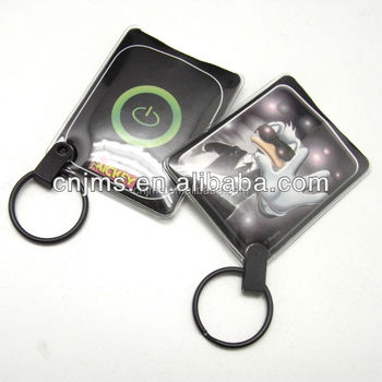 pvc customized squeeze card keychain light buy pvc squeeze card