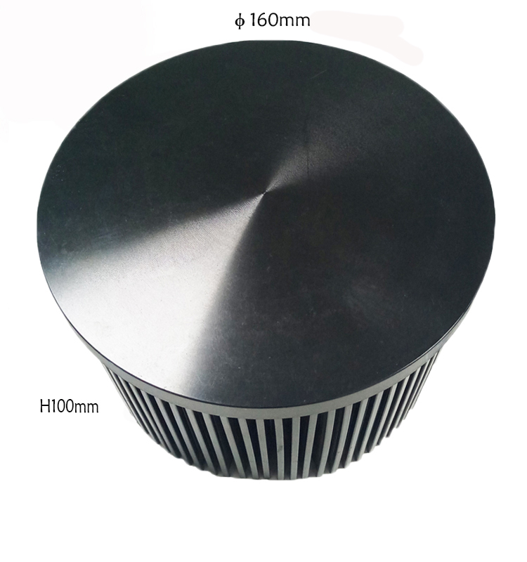 Clu048 Heatsink,50W Cob Led Cxb 3590 Heatsink Cxb3590,Aluminum Cob Led Light Heat Sink Led Radiator