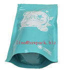 Plastic Tobacco Pouch For Tobacco Packaging With Child Resistant Zipper