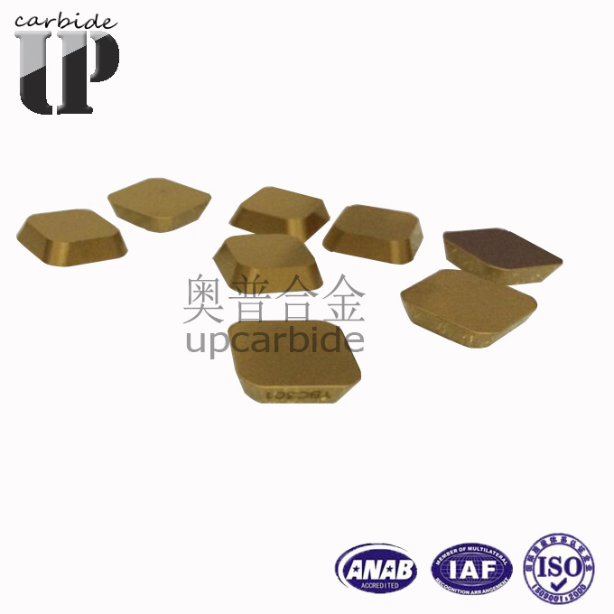 China Factory Supply Diamond Cemented Carbide Cnc Milling Insert ...