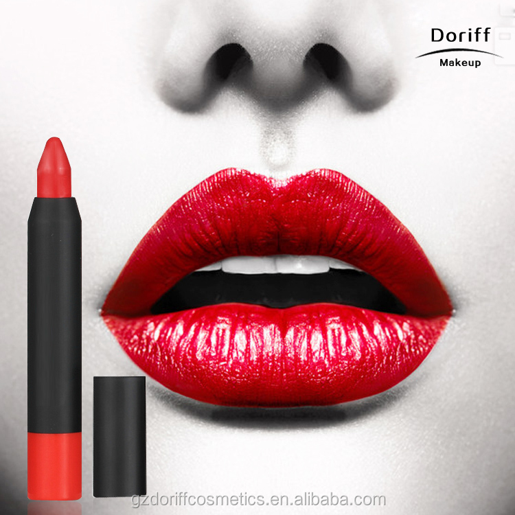 Hot selling fashionable simple use lip crayon lip stick and lip pencil