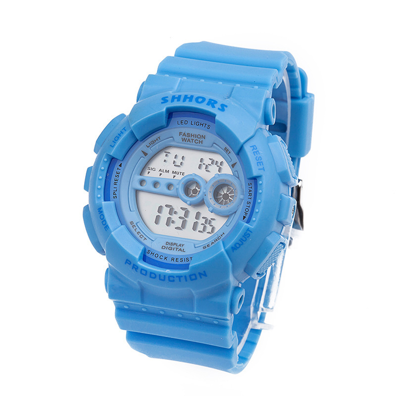 Fashion Sport Silicone Watch Women 3 ATM Waterproof Digital Wristwatch Lady Relogio Infantil Relojes Mujer Montre Enfant A403