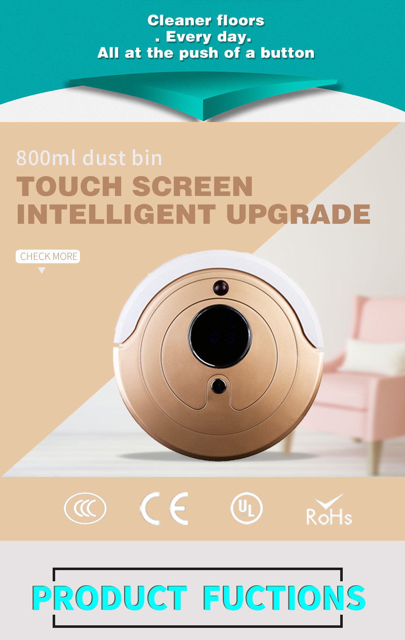 New Uv Sterilization Industrial Vacuum Cleaner Robot,dust Ball Robot Vacuum Good Looking