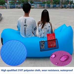 waterproof Inflatable Lounge Bag Air Sofa and Pool Float for Indoor or Outdoor for Camping Hiking