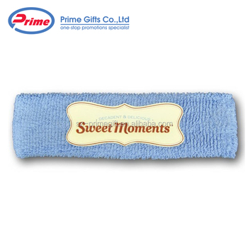 Custom Logo Moisture Wicking Cotton Sports Headbands - Buy ... 6c2059d9a03