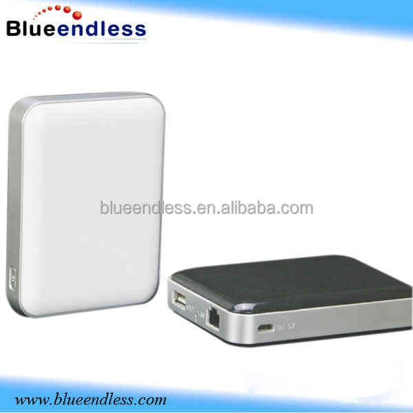 universal power bank wifi router 64G storage 300m high range wireless router