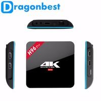 dual tuner amlogic H96 PRO S912 2g 16g Octa core android 6.0 tv box KODI 17.0