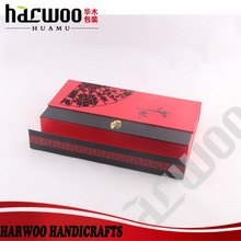 High-end paper foldable gift box for mooncake