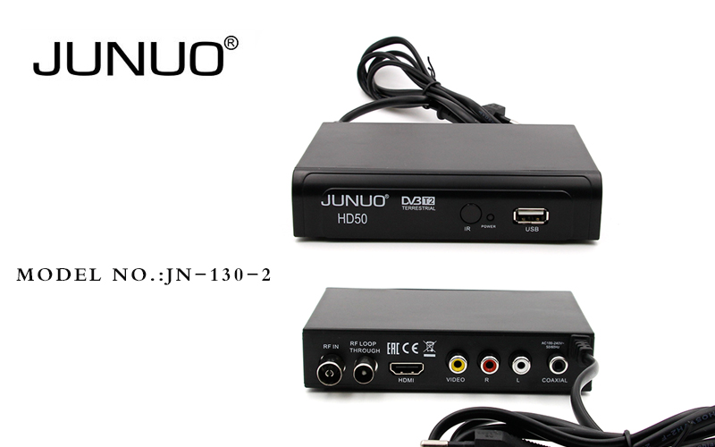 JUNUO Factory directly PVR DVB-T2 IPTV set top box for home use