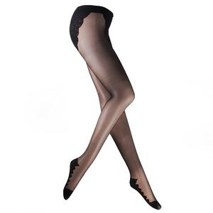 Europe sexy patterned tights opaque pantyhose
