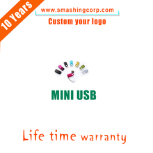 customized OEM LOGO 2/4/8/16GB Colorful New Style mini customized OEM LOGO Metal USB Flash Drives bulk cheap USB 2.0 Pen Drive