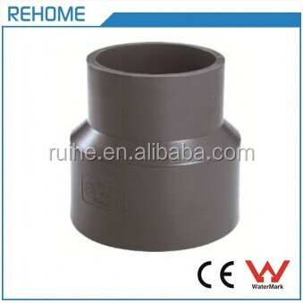 DIN8063 UPVC Water Pipelines Fitting Universal Joint Reducing Coupling