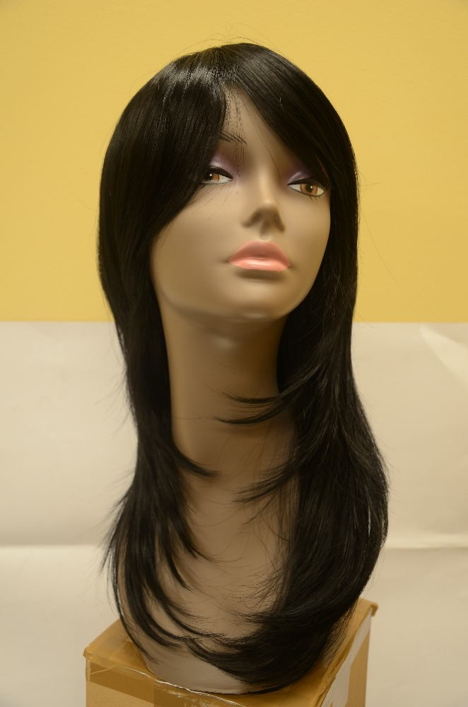 Factory American fashion high temperature fiber women wigs
