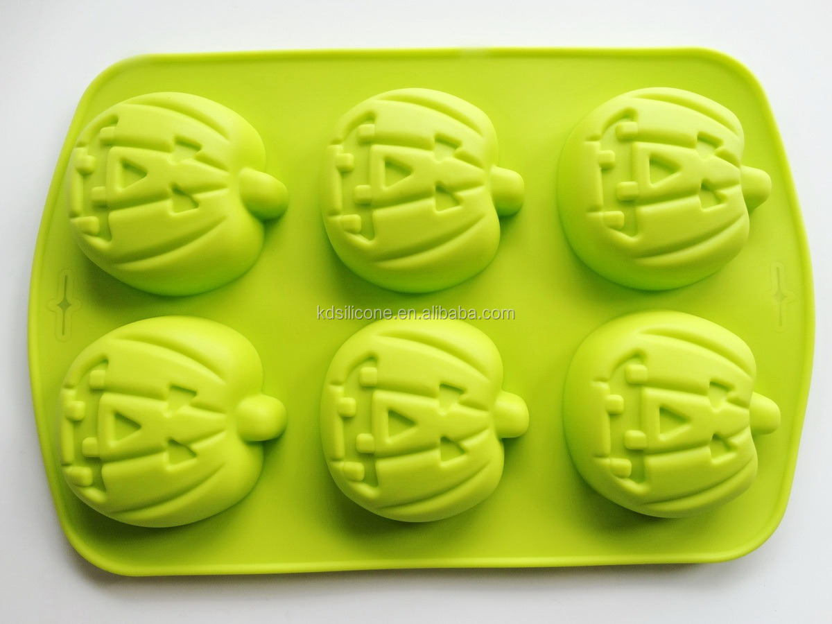 silicone pumpkin halloween cake candy pastry biscuits ice mold jelly baking pan pumpkin shape silicone cake