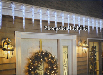 Festive Glittery Outdoor Commercial Led Illuminated Led Shooting ...