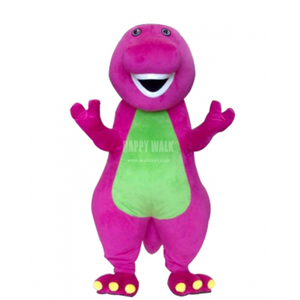 2018 HI CE new wholesale guanzhou factory custom design Barney mascot costume for sale