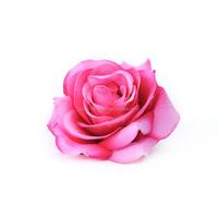 elegant wedding peach handmade silk fabric flower brooch pink for wedding
