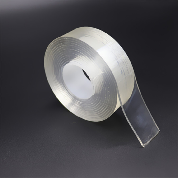 30mm*2meters Double Sided Washable Gel Grip Tape Nano Suction Tape