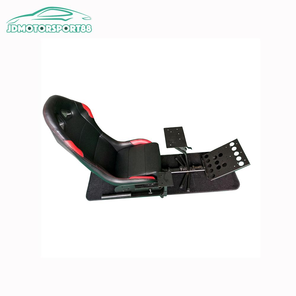 Virtual Racing Simulator Machine Chair For Logitech Wii Xbox Pc