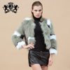 Chinese winter Elegant Style Real fox fur model new women coat