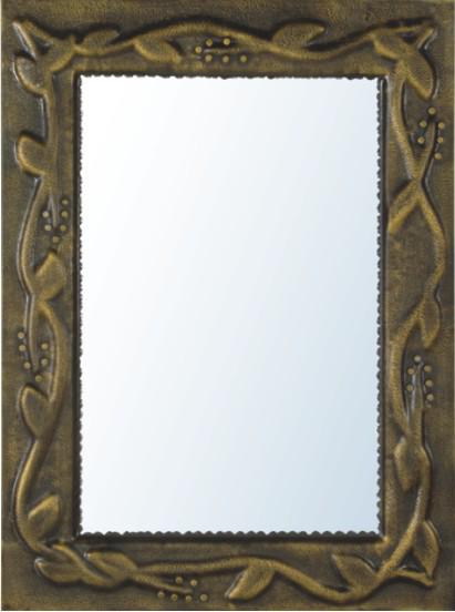 rectngulo antiguo bao espejo grande espejo de pared colgante