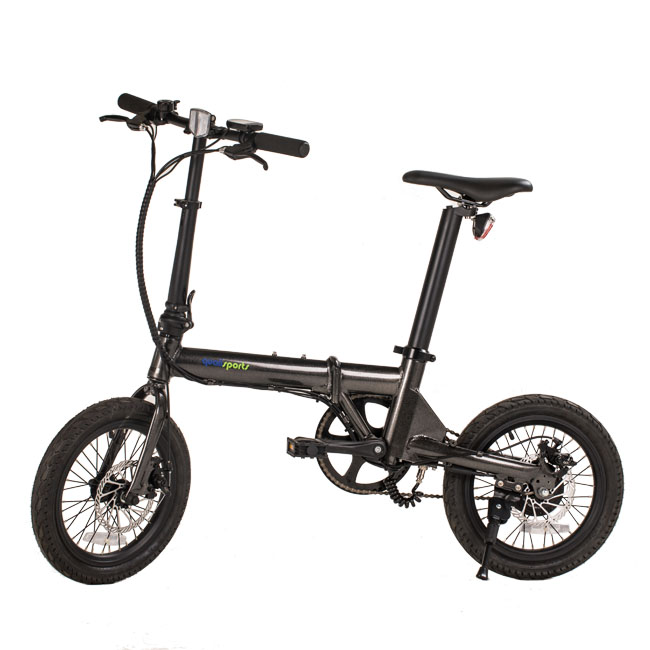 xiao mi qicycle similar <strong>folding</strong> 16 inch electric bike/ebike with throttle