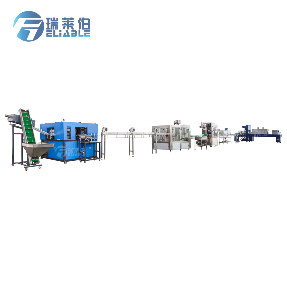 Complete 15000BPH Spring / Mineral Water Bottling Plant Project Machinery