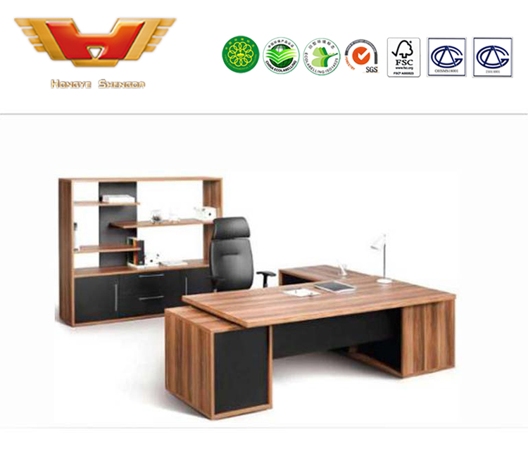 Best Price Escritorio De Madera Moderno Exclusive Office Furniture Desks Boss Manager Modern Wooden Table And Chair