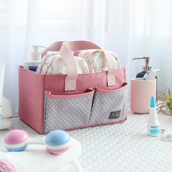 Factory Stock Baby Diaper Felt Bag Diaper Bag Diaper Caddy Organizer Cases